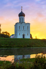 The Church of the Intercession of the Holy Virgin on the Nerl Ri