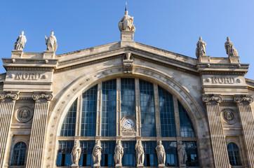Gare du Nord facade