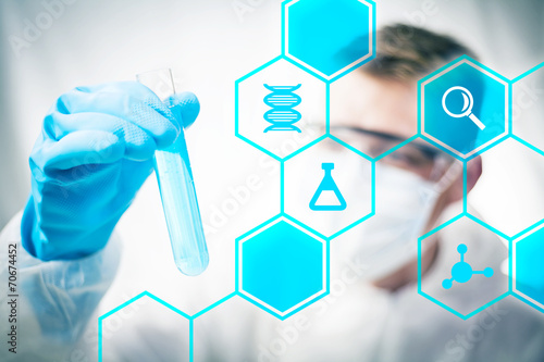 Medical research and chemistry science - 70674452