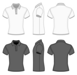 Men's  polo shirt and t-shirt design templates