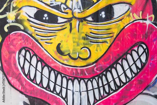 canvas print picture Graffiti