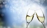 champagne glasses - 70675436