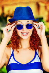 spectacles blue