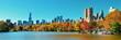 canvas print picture - Central Park Autumn