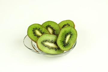 Fesh Sliced Kiwi Fruit