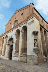 Padua - church Chiesa degli Eremitani (Church of the Eremites).