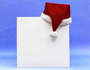 Papierblatt Weihnachten