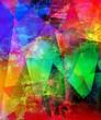 malerei texturen polygonal