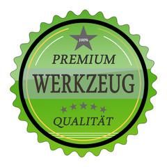 ql6 QualityLabel - Premium Werkzeug Qualität - grün g1781