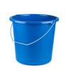 Leinwanddruck Bild - Empty blue bucket