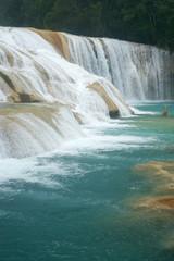 Agua Azul waterfal