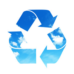 Recycle air symbol