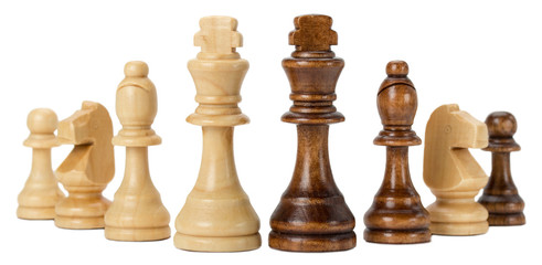 chess isolated on the white background