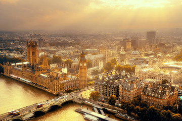 Westminster aerial