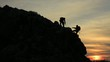 tırmanış ve başarı keyfi