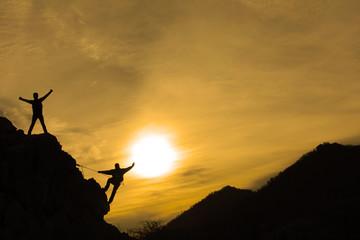 mutlu dağcılar