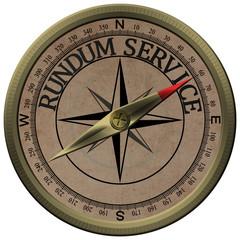 Bronce Kompass Rundum Service