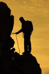 tırmanış için hazırlıklar