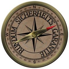 Bronce Kompass Rundum Sicherheits Garantie