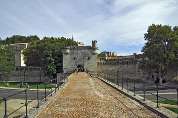 Il Ponte di Avignone e la citta' vecchia