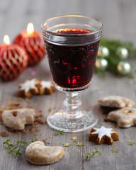 Weihnachten Glühwein