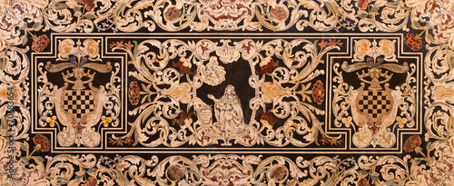 Bologna - Part of side altar of church San Martino.