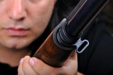 Shotgun and details