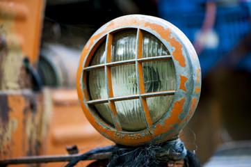 Orange lamp