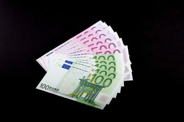 Euroscheine 500-100