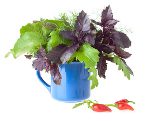 Bouquet of Healthy Greens