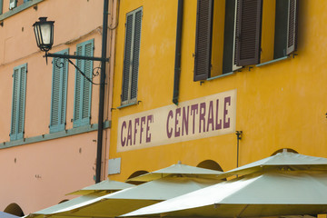 Central Coffee Shop in Italy