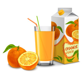 Orange juice set