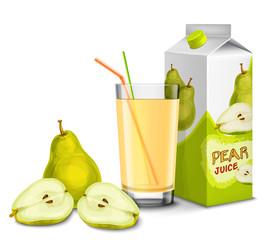 Pear juice set