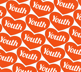 Youth Concept Graphic Symbol Pattern