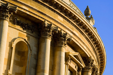detail of Radcliffe Camera, Oxford, UK