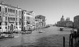 Venice - Canal grande under Ponte Accademia