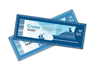 Ship cruise tickets