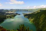 Fototapety Panoramica da Lagoa das Sete Cidades