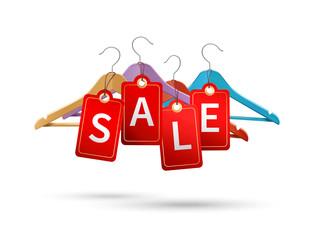 Clothes hanger sale labels