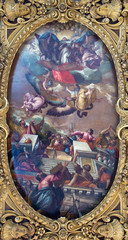 Venice - The Pain of the Immacolata and saints