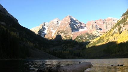 Maroon Bells Aspen Colorado in Fall