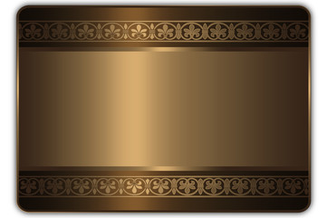 Gift or credit card template.