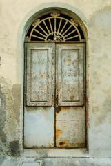 Vecchia Porta di ingresso casa, negozio
