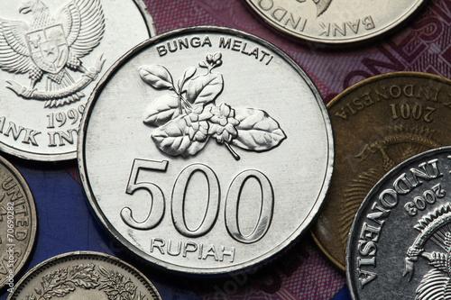 Foto op Plexiglas Indonesië Coins of Indonesia