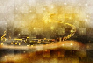 音譜 楽譜 背景