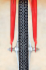 Detail of Bike Tire