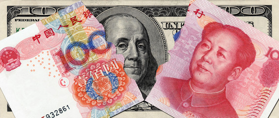 tearing RMB and USD in the bottom