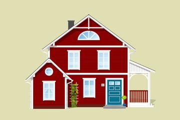 Norwegisches Haus