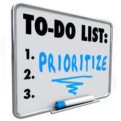 Prioritize Word To Do List Manage Workload Many Tasks