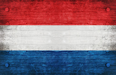 The National Flag of the Netherland